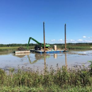 Stormwater Detention Pond project