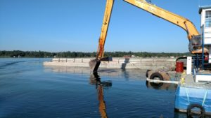 st mary's river dredging